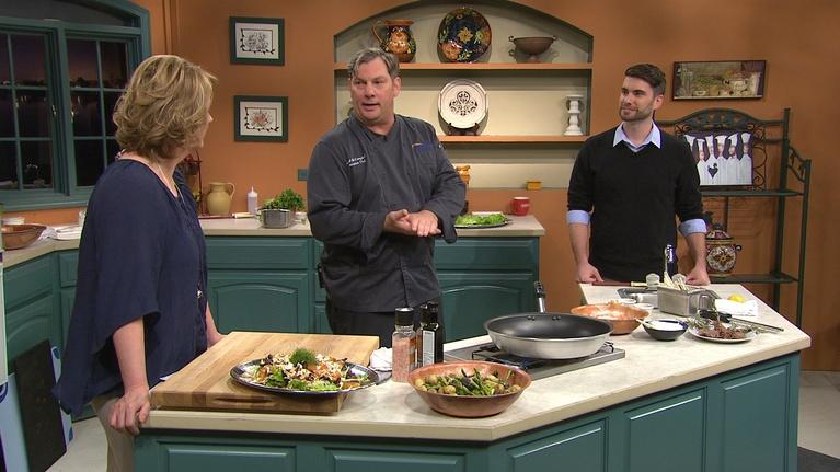 Cooking with Chef David McCampbell
