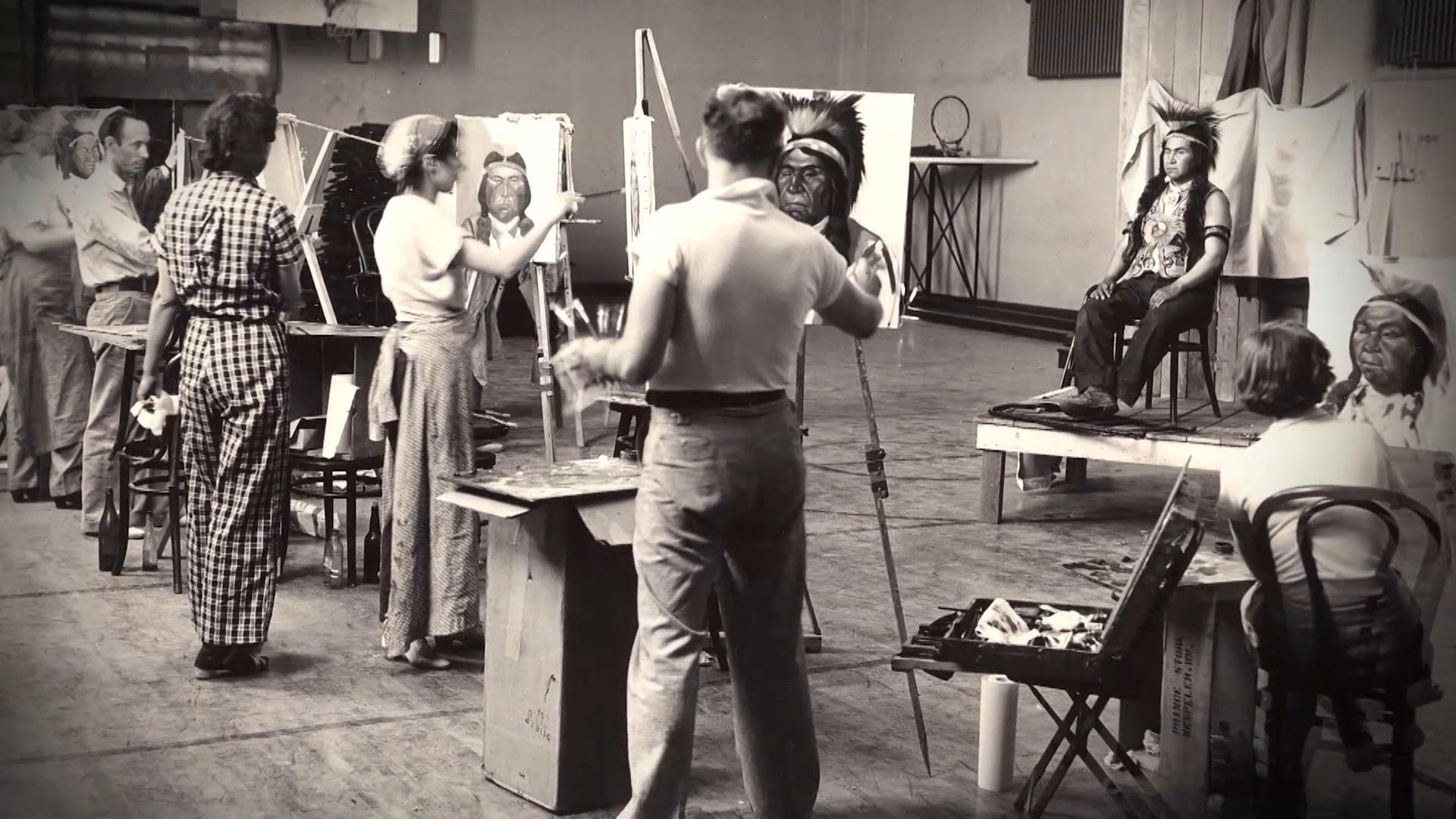 Indian Summers: Nespelem Art Colony 1937 – 1940