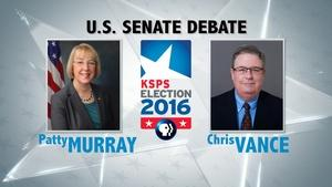 U.S. Senate Debate #1: Murray v. Vance