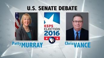 U.S. Senate Debate #1: Murray v. Vance