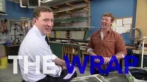 Finally on TV Broadcast Celebration of The Wrap