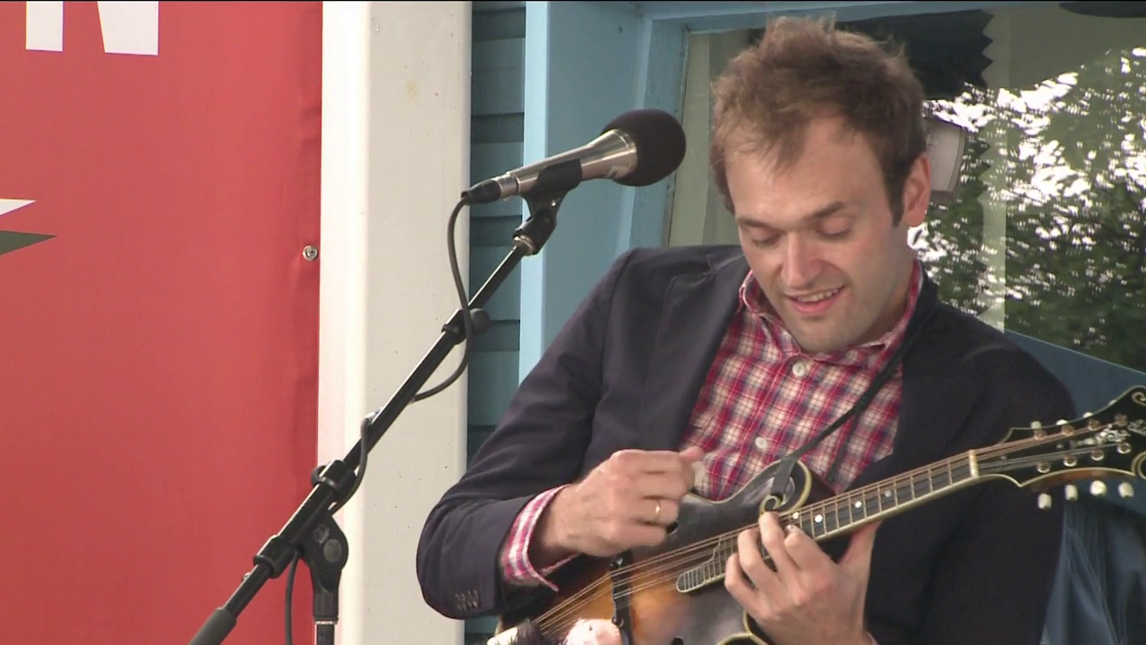 State party leaders, Chris Thile, storyteller Kevin Kling