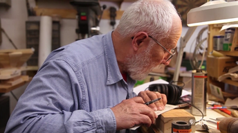 TV Takeover - American Craft Council   Vet Turns Wood