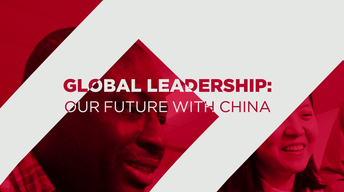 Global Leadership: Our Future with China