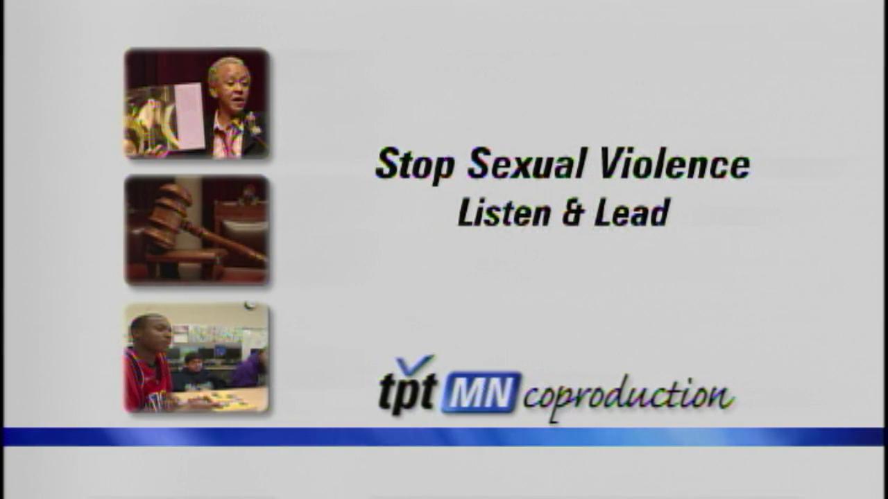 Stop Sexual Violence: Listen & Lead