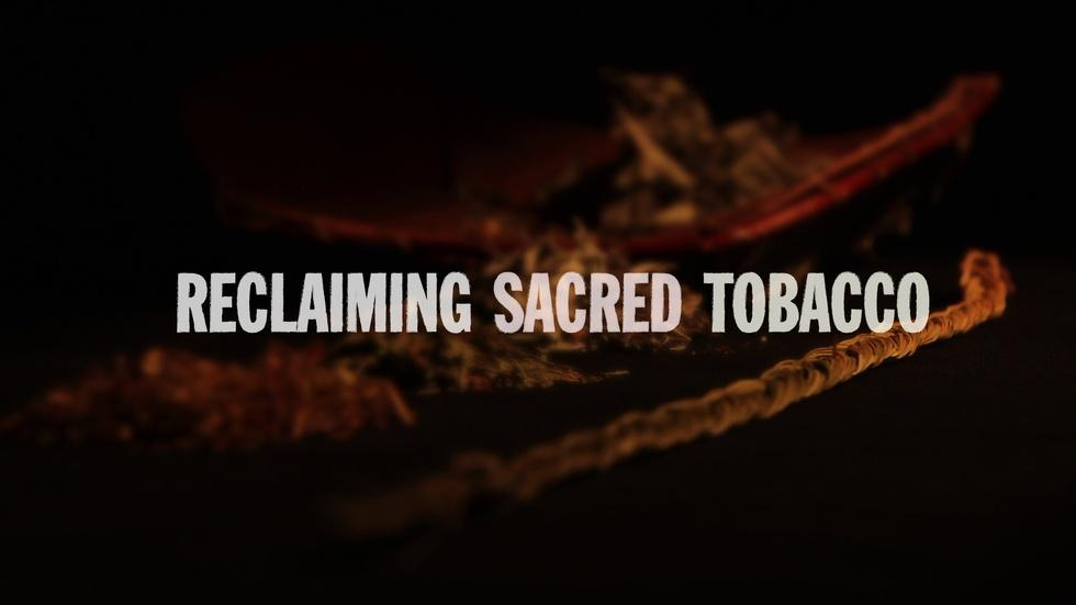 Reclaiming Sacred Tobacco image