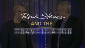 Rick Steves and the Trav-L-ator