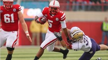 Huskers Defeat Huskies