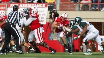 Huskers Defeat the Spartans