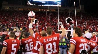 Huskers Clinch Big 12 North With Colorado Win