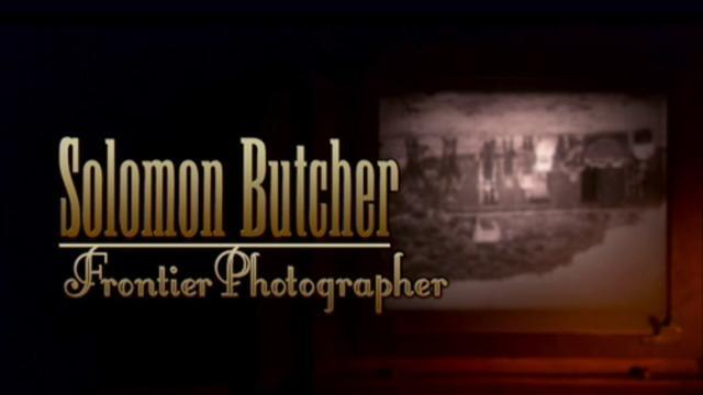 Video Solomon Butcher Frontier Photographer Watch Net