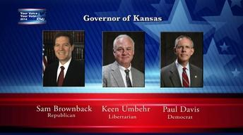 Your Voice, Your Vote:  Kansas Governor