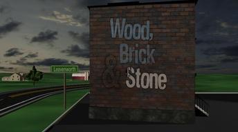 Wood, Brick & Stone:  Leavenworth