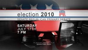 Election 2010: Senate Republican Primary Debate