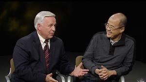 Eugene Watanabe and Dr. Craig Jessop