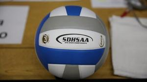 2016 Class B State Volleyball Championships - Game 9