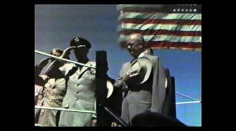 President Dwight D. Eisenhower - Ellsworth AFB Dedication
