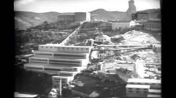 Homestake Mine - Building the Yates Headframe