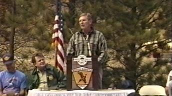 1991 Burlington Northern Heritage Trail Dedication