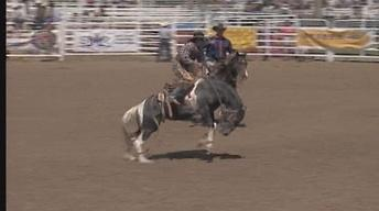 Chuck Schmidt Saddle Bronc 2005 SDHS Rodeo Finals