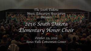 2016 South Dakota Elementary Honor Choir