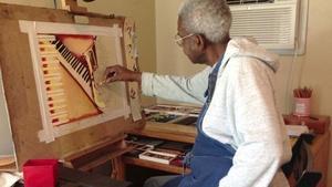 Pastel Artist Rufus Chalmers