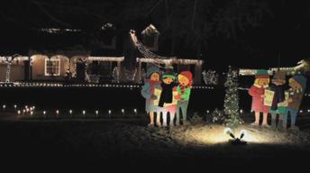 Christmas Tree Lane 2013