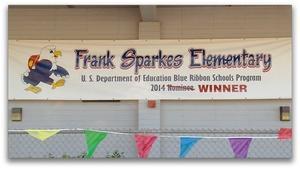 Frank Sparkes National Blue Ribbon School