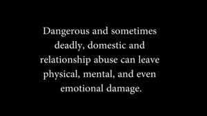 Sanger High: Domestic Abuse