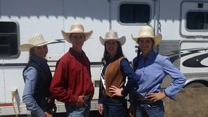 High School Rodeo Champions