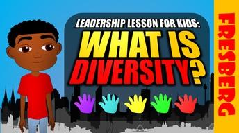 Fresberg Cartoon: Leadership for Kids - What is diversity?