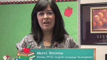 American Graduate Teacher Wall: Marci Brekke
