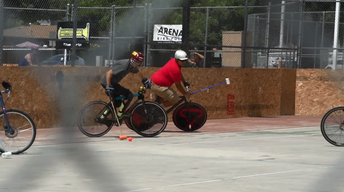 Fresno Pedal Junkies: Bike Polo Tournament