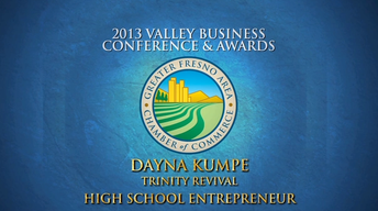 Fresno Chamber High School Entrepreneur