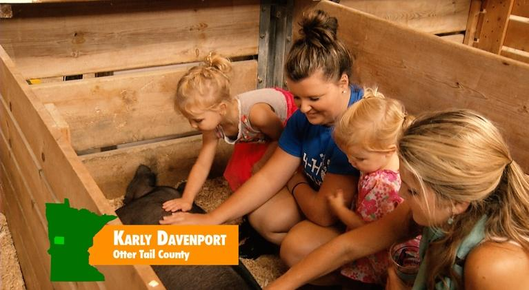 4-H at the Minnesota State Fair: Karly Davenport