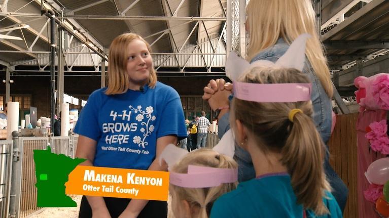 4-H at the Minnesota State Fair: Makena Kenyon