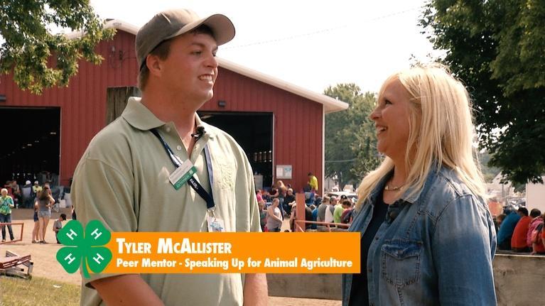 4-H at the Minnesota State Fair: Tyler McAllister