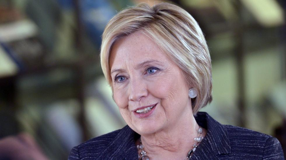 Looking back, Hillary Clinton sees dangers for democracy image
