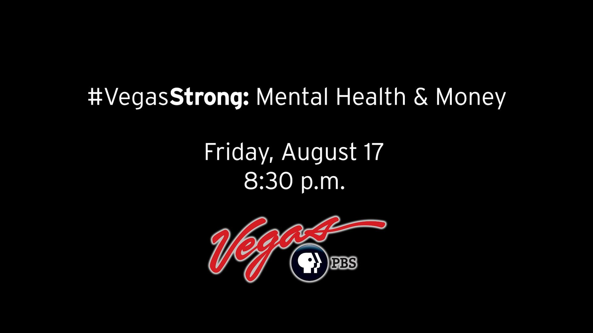 #VegasStrong: Mental Health and Money Preview 2