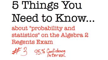 CC Algebra II 95% Confidence Intervals
