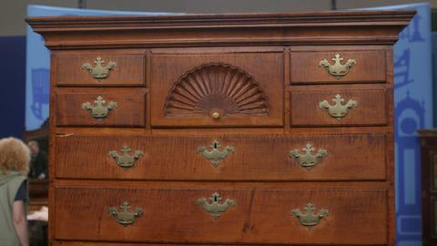 Antiques Roadshow -- S21 Ep29: Appraisal: Dunlap Chest-on-Chest, ca. 1775