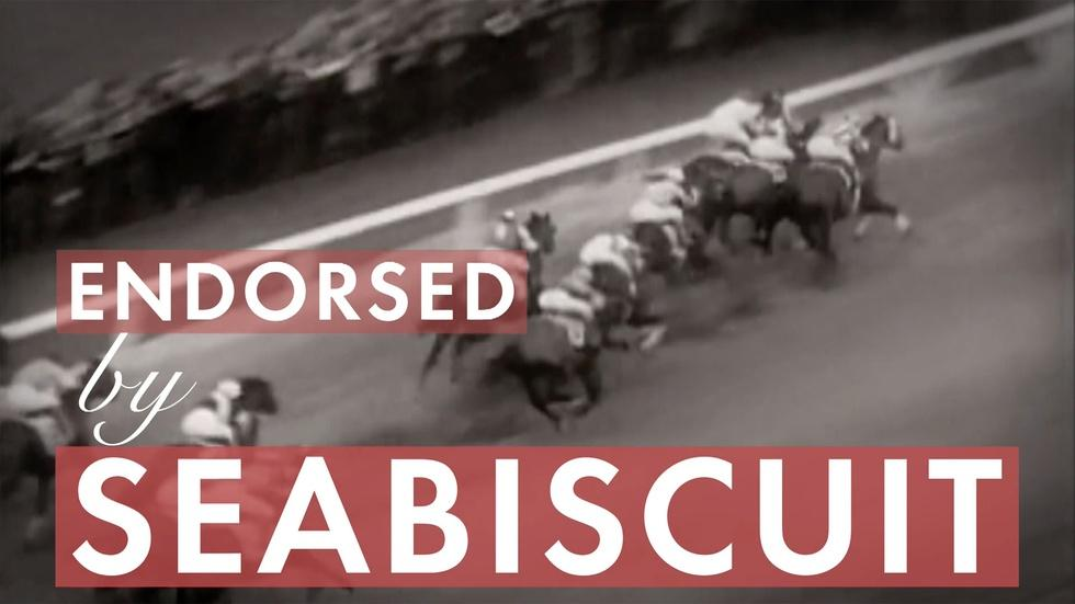 Endorsed by Seabiscuit image
