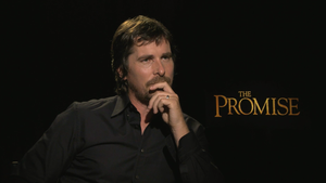 """Christian Bale for """"The Promise"""""""