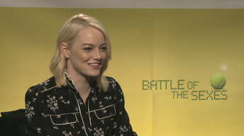 """Emma Stone & Steve Carrell for """"Battle of the Sexes"""""""