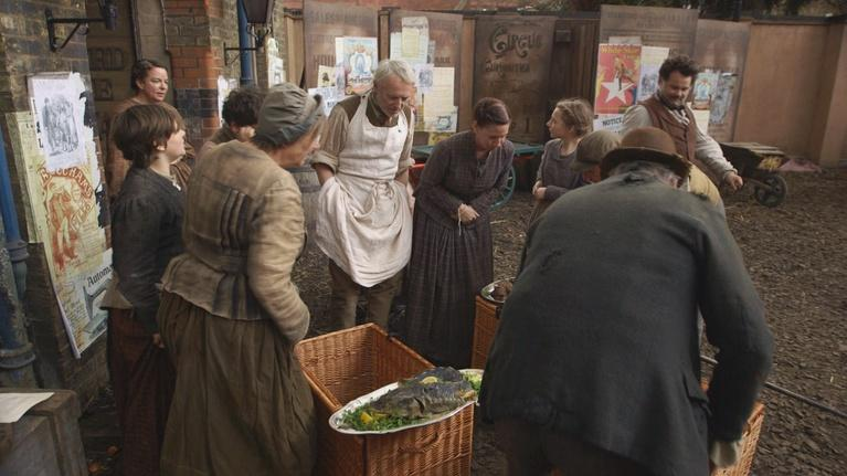 Victorian Slum House: A Surprise Feast from Edward VII