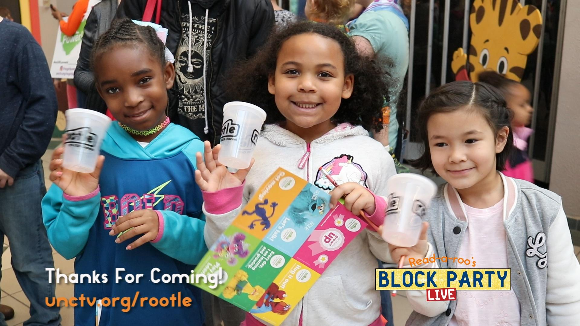 Read-a-roo's Block Party LIVE! in Hickory, NC - T
