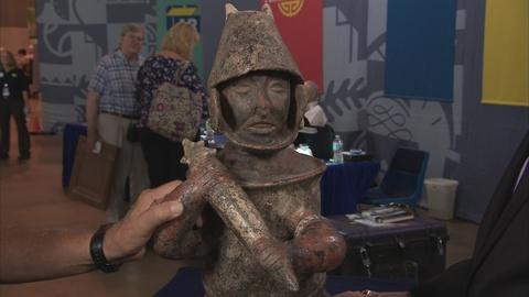 Antiques Roadshow -- Appraisal: 20th-C. Reproduction West Mexican Warrior Figure