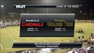 Adamsville vs Peabody High School