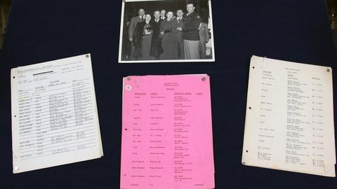 Antiques Roadshow -- S21 Ep14: Web Appraisal: John Wayne Photo & Call Sheets