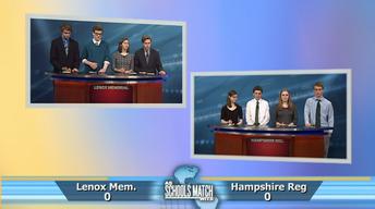 Lenox Memorial vs. Hampshire Regional (April 14, 2018)